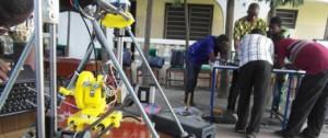 Un Togolais cree une imprimante 3D grace a des dechets electroniques