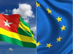drapeau Togo-UE