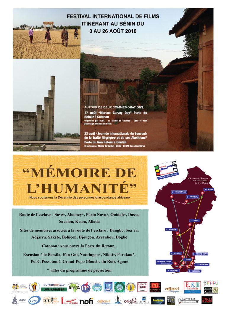 Affiche mémoire de l'humanité 05 07 18