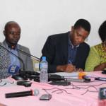 Leaders de la coalition des 14 partis de l'opposition togolaise