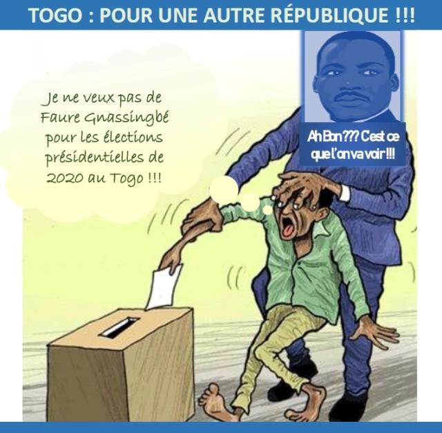 TOGO - POUR UNE AUTRE RÉPUBLIQUE